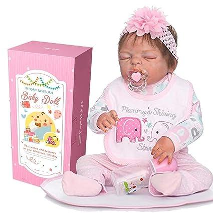 Amazon.es: AIBAOLIAN Muñecas Reborn bebé 23 Pulgadas 57cm ...