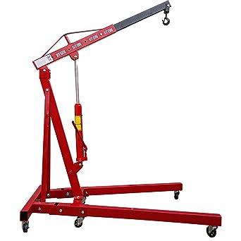 PALDIN 2 Ton Hydraulic Folding Engine Crane Stand Hoist lift