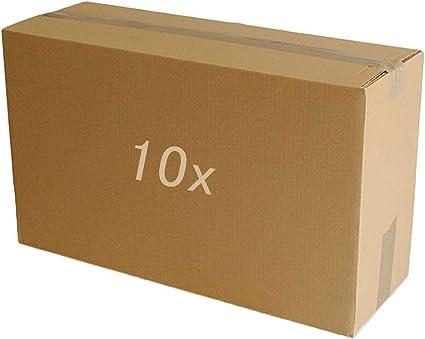 5 10 20 40 x cajas de cartón grandes de tamaño grande y fuertes, cajas de cartón para mudanzas, color 25,4 cm x 50,8 cm x 33 cm.: Amazon.es: Oficina y papelería