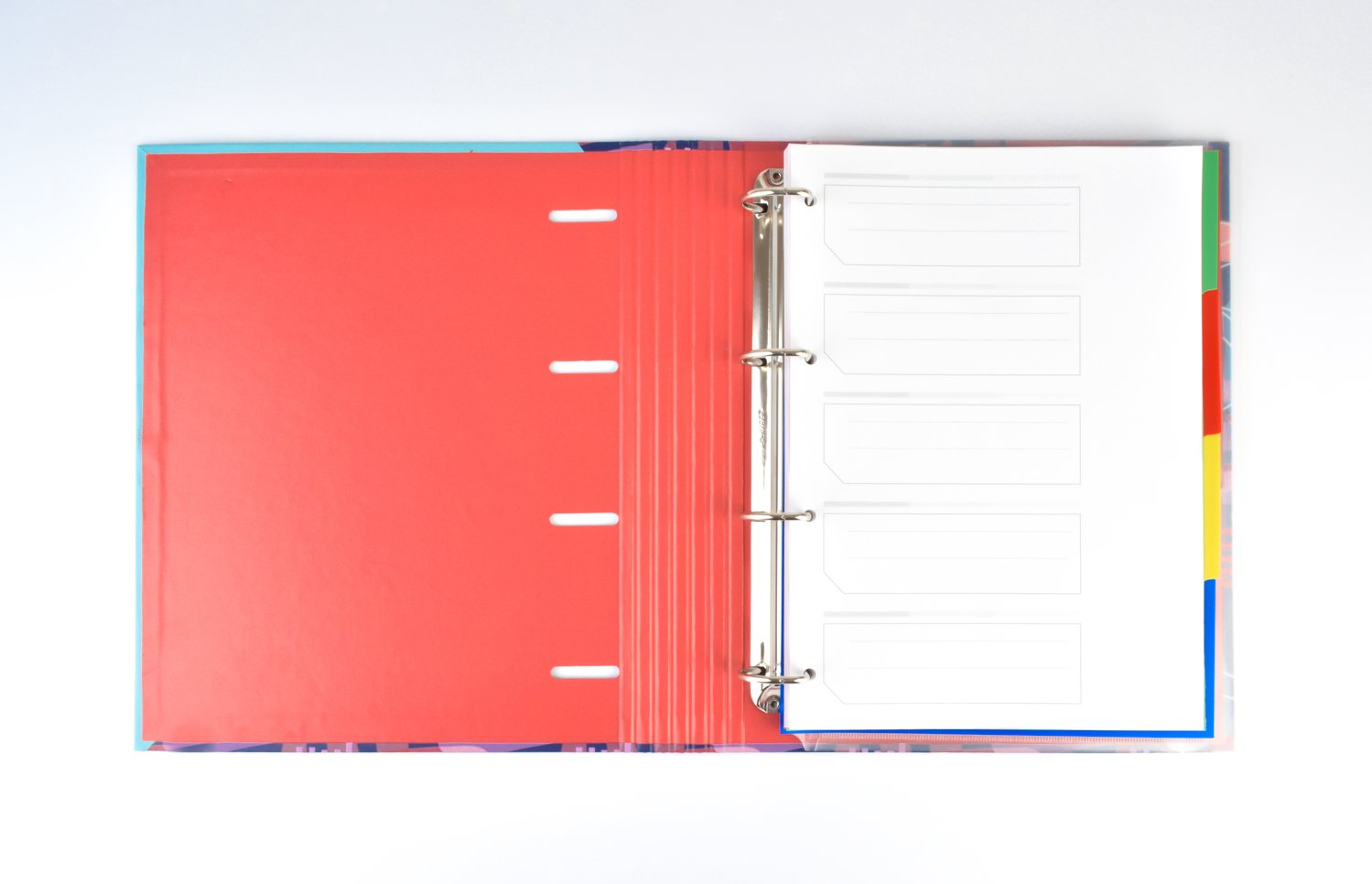 Grupo Erik Editores Amelie - Carpeblock con 4 anillas, 32 x 27.5 cm: Amazon.es: Oficina y papelería