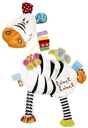Amazon.com: Etiqueta Etiqueta Amigos Zebra sedoso Confort ...