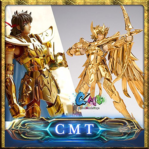 Game, Fun, CMT Instock OCE  Normal Version S-Temple Metal Club Sagittarius Aiolos Saint Seiya metal armor Myth Cloth Gold Ex Action Figure, Toy, Play