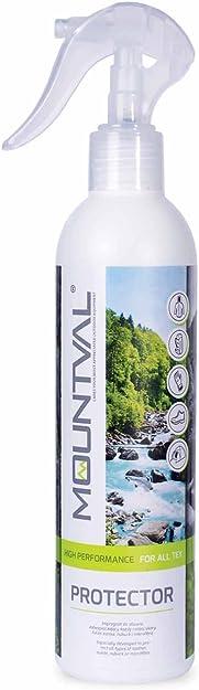 Mountval Proctector, Repelente al Agua para Todo Tipo de Calzado para Exteriores, Gamuza y Tela de Cuero Nobuk, Funciona con Gore-Tex.