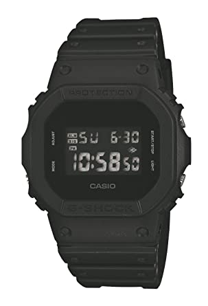 Casio - Mens Watches - Casio G-Shock - Dw-5600Bb-1Er Monotone