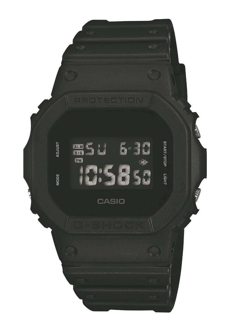 Men's Watches - Casio G-Shock - Dw-5600Bb-1Er Monotone Matte Black Watch