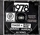 img - for FULLY ILLUSTRATED 1978 BUICK REPAIR SHOP & SERVICE MANUAL & FISHER BODY MANUAL CD INCLUDES: Skylark, Century, Regal, Le Sabre, Electra, Riviera and Skyhawk, including station wagon and convertible cars. 78 book / textbook / text book