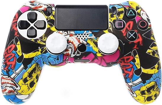 VvXx - Funda protectora para mando de PlayStation 4 y PS4 (silicona, antideslizante): Amazon.es: Bricolaje y herramientas