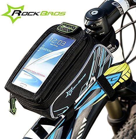Bici plegable bolsa KRBS ROCKBROS Road cesta bicicleta marca GPS ...