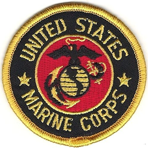 (US Military USMC Seal of The United States Marine Corps Embroidered Patch)