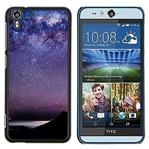 Stuss Case / Funda Carcasa protectora - Estrellas del cielo la constelación de Mar - HTC Desire Eye M910x
