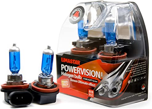 2 X H11 Birnen Pgj19 2 Halogen Lampe 6000k 55w Xenon Glühlampe 12v Auto