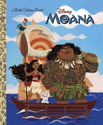 Moana Little Golden Book (Disney Moana)