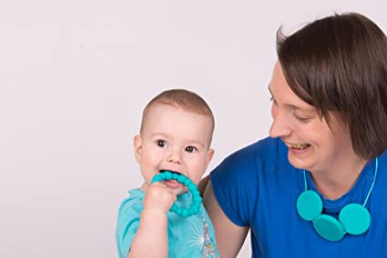 Gemious Ltd Bijoux Bangle Teething Bangle By Gumigem Oasis Silicone Teething Necklace gu-ban-bijoux-oasis-LABEL-FBA