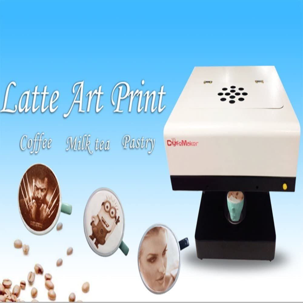 cafemaker 3d Café Impresora, vollautomatische capuchino tartas ...