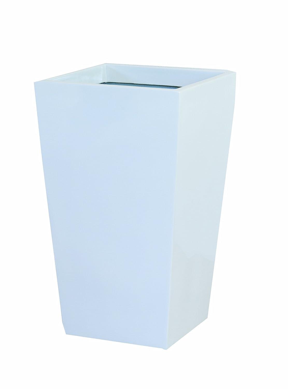 大和プラスチック 鉢カバー&ポット スクエアポットL型 底面穴あき加工済み 350×350×H570 L-35 ホワイト B006O2MS8A L-35|ホワイト ホワイト L35