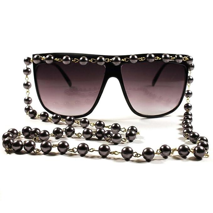 KISS Gafas de sol mod. COLLAR de PERLAS - mujer extravagante ...