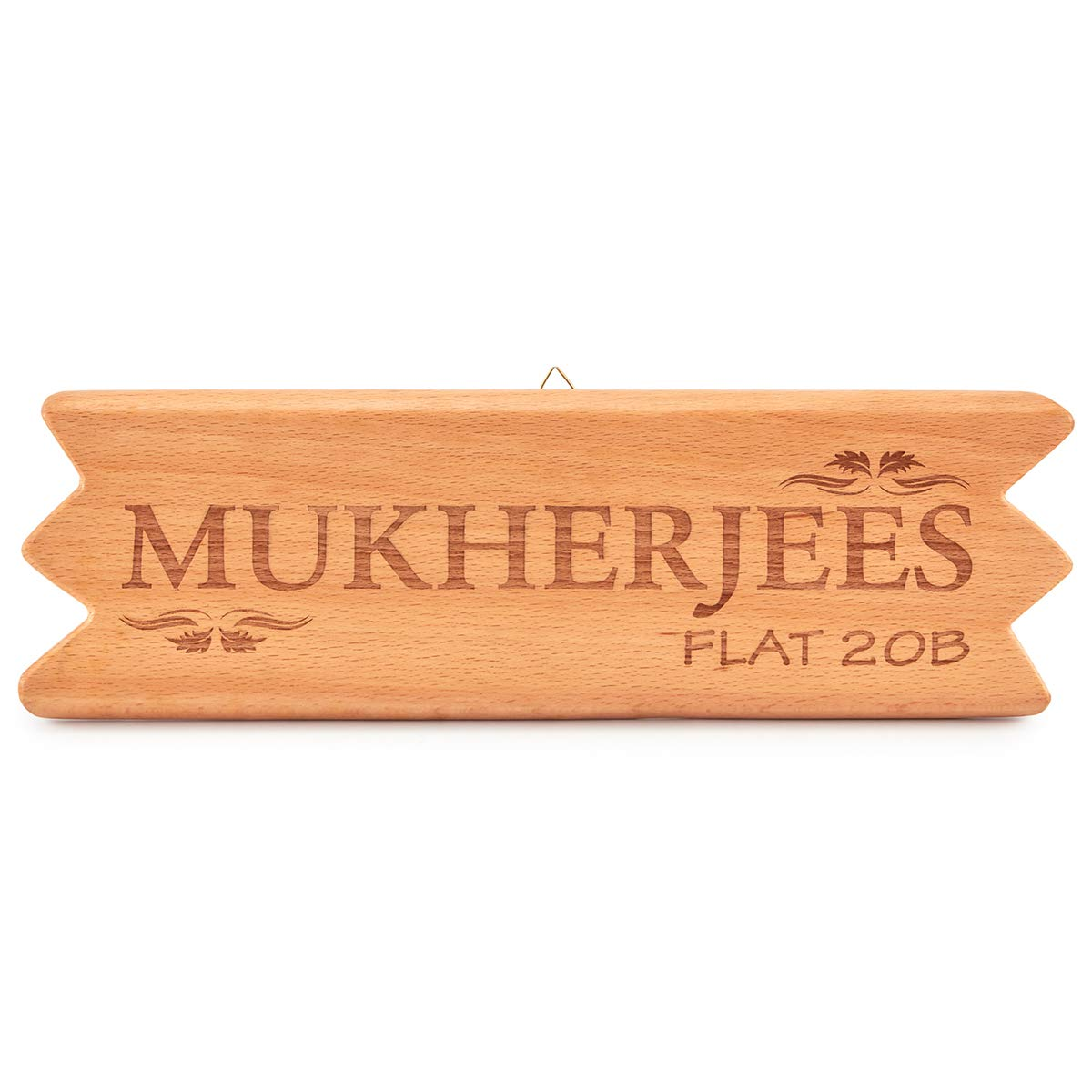 Buy R  S  Impressions Wooden Engraved Name PlateI Customized