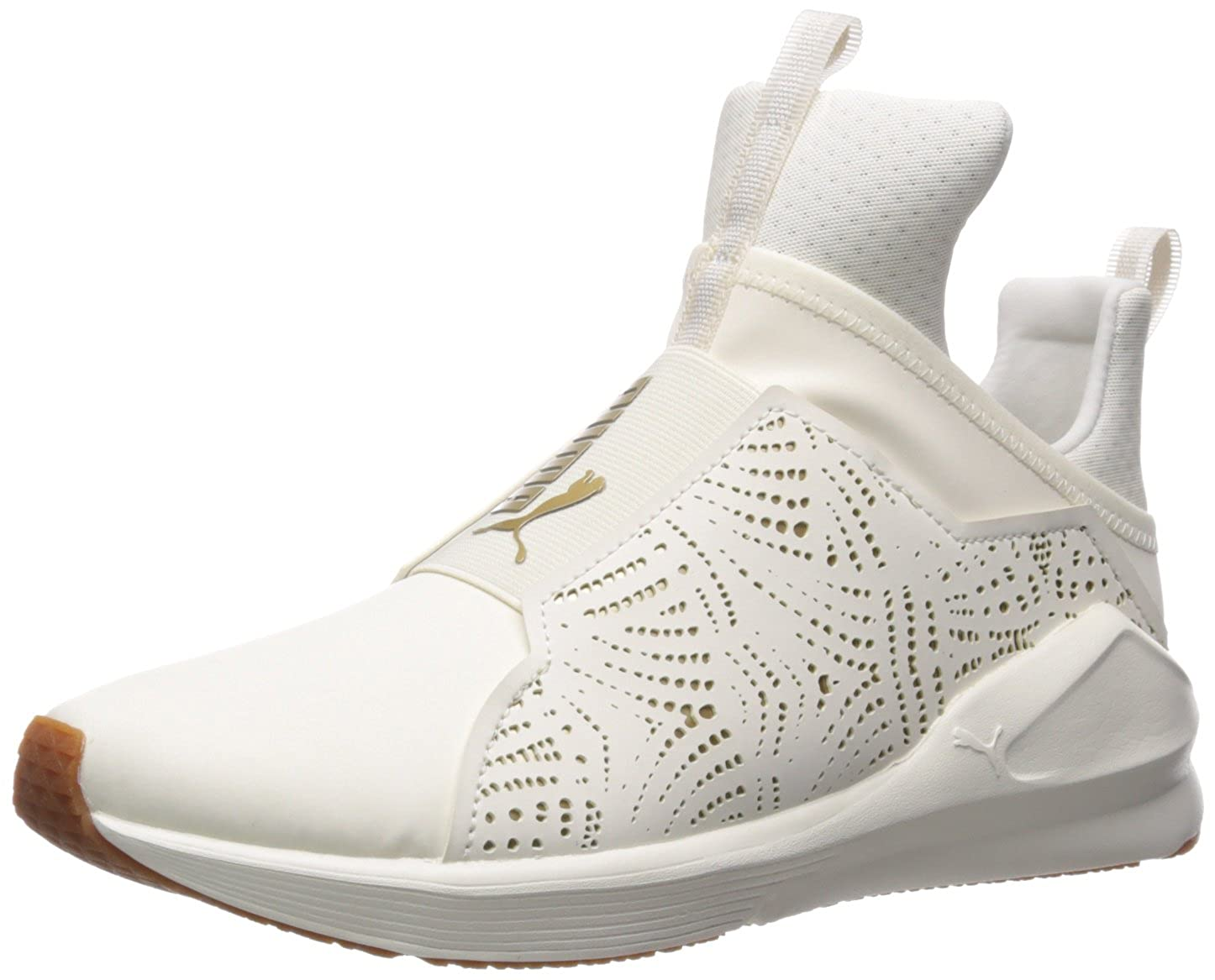 Whisper White-gold PUMA Womens Fierce Lasercut Wn Sneaker