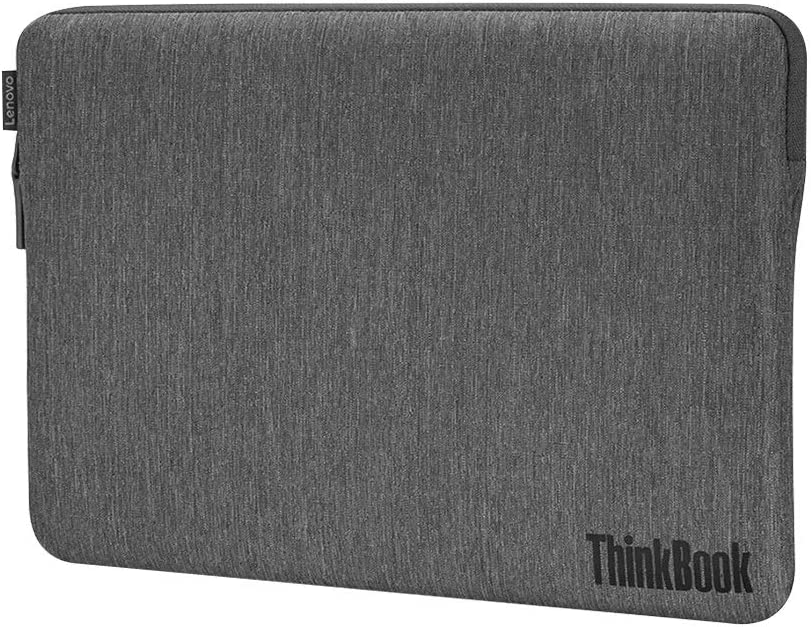 """Lenovo Carrying Case (Sleeve) for 13"""" to 14"""" Notebook - Gray - Microfiber, Polyester"""