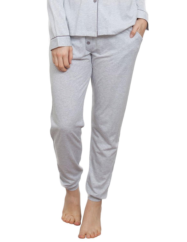 TALLA 34. Cyberjammies 3809 Women's Erica Grey Pajama Pyjama Pant