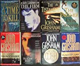 Lot of 8 John Grisham Paperback Books (The Partner, a Time to Kill, the Firm, the Testament, the Rainmaker, the Pelican Brief, the Rnaway Jury, the Client)