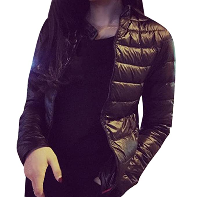 Escudo, abrigo,Internet Chaqueta para mujer de moda abrigo de parka delgado Abrigo cálido
