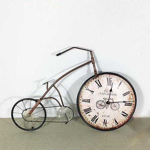 Longless Decorativo relojes en tres dimensiones de la bicicleta ...