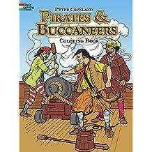 Pirates & Buccaneers Coloring Book