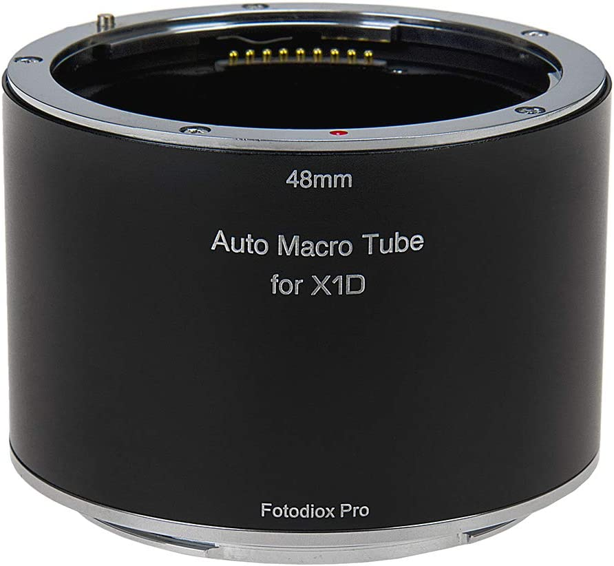 Fotodiox Pro Automatic Macro Extension Tube, 48mm Section - for Hasselblad XCD Mount Mirrorless Digital Cameras for Extreme Close-up Photography