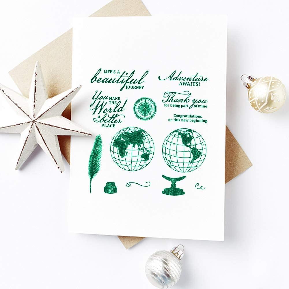 Metall Weihnachten Serie Schneide Schablone Transparent Siegel Stempel Für DIY C