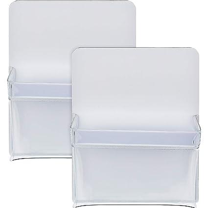2 Piezas de Soporte de Bolígrafos Magnético Portalápices de Plástico Bolsa de Almacenaje para Refrigerador Rotuladores Marcador de Pizarra Accesorios ...