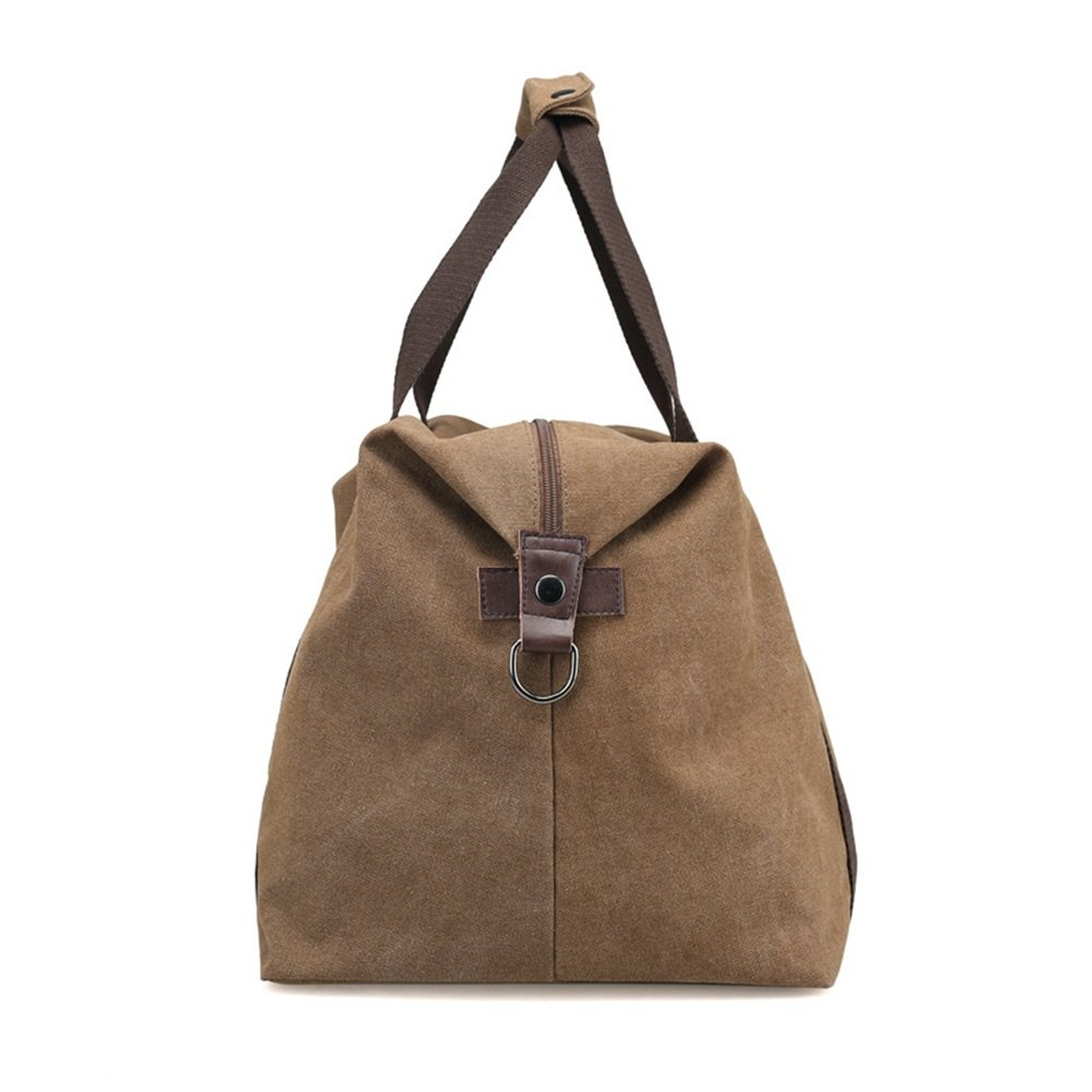 Ybriefbag Unisex Canvas Traveling Bag, Large Capacity Canvas Traveling Bag, Single Shoulder Shoulder Bag, Short Distance and Large Capacity Baggage Bag. Vacation by Ybriefbag (Image #3)