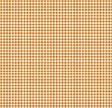 SheetWorld Crib / Toddler Sheet - Primary Orange Gingham Woven - Made In USA