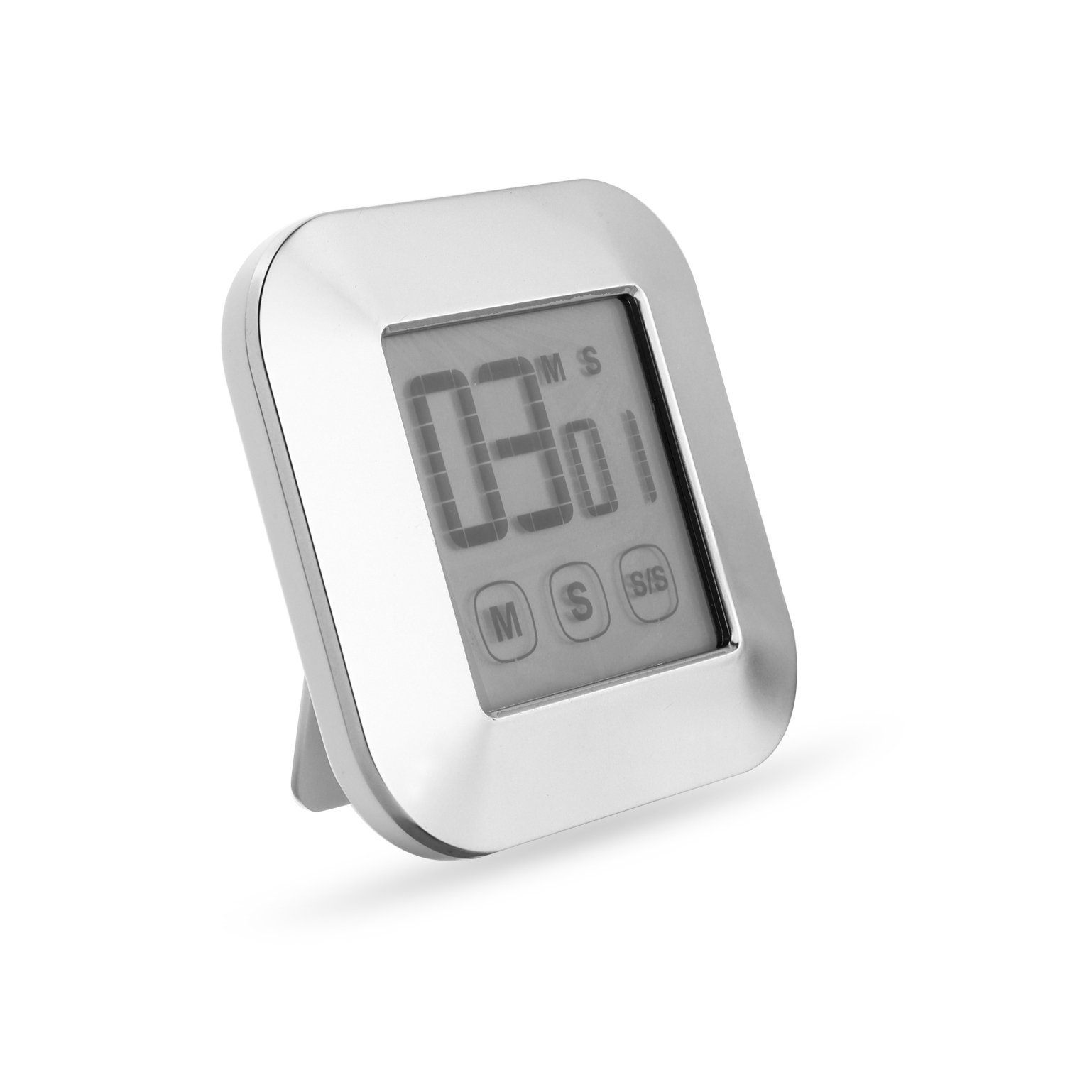 WERCOMIN Digital Kitchen Timer Touchscreen Cooking Timers Clock Backlit LCD Screen Loud Alarm Magnetic Backing Stand for Game, Classroom, Sports, Exercise by WERCOMIN (Image #4)
