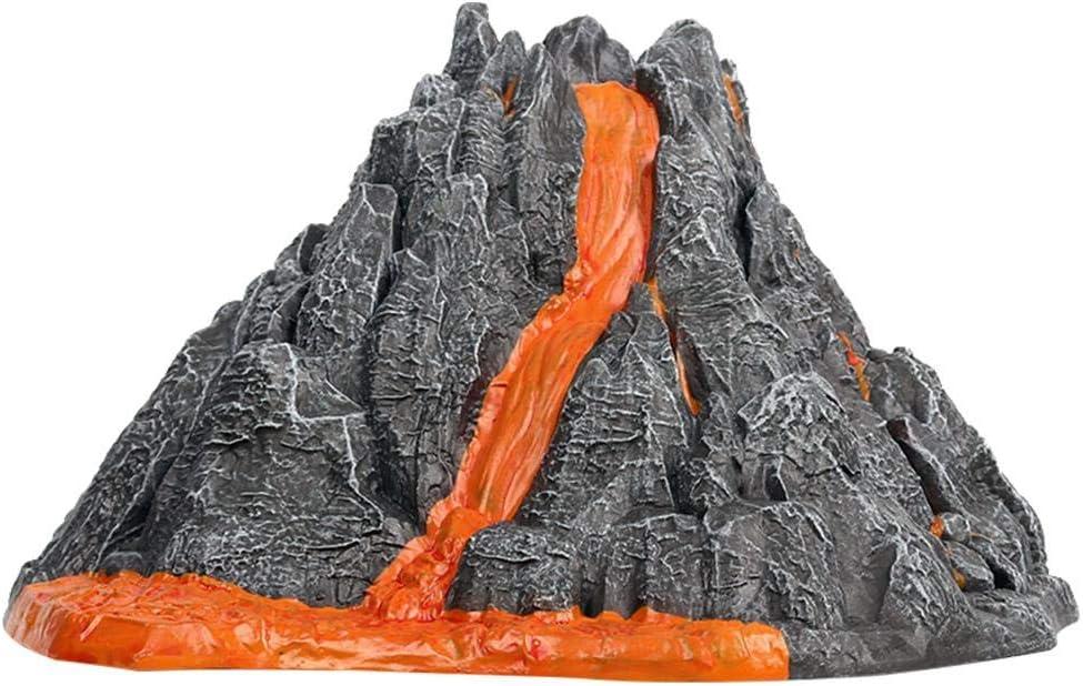 LLDWORK Volcano Toy, Volcanic Eruption Model, Volcano Model Toy, Simulation Volcano Toy for Children Kid