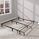 Best Price Mattress Adjustable Bed Frame – 7 Inch Metal Platform Beds w/ Heavy Duty Steel Construction Compatible with Full, Queen, and King Size Review