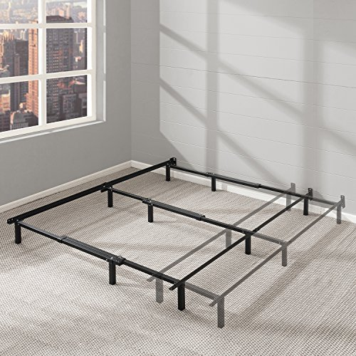 Steel Adjustable Frame (Best Price Mattress Adjustable Bed Frame - 7 Inch Metal Platform Beds w/ Heavy Duty Steel Construction Compatible with Full, Queen, and King Size)