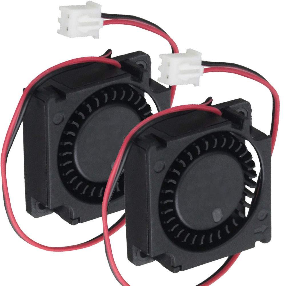 2Packs Wathai 30mm 24V Blower Cooling Fan Brushless Exhaust Fan 2pin 30 x 10mm