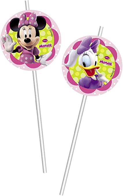 Amazon.com: Disney Minnie Mouse Bow Tique 6 Pack Party ...
