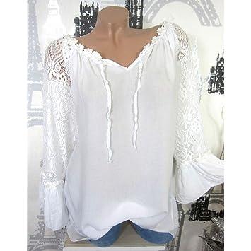 WDFSERVenta Caliente Blusas Camiseta básica sin Mangas de algodón ...