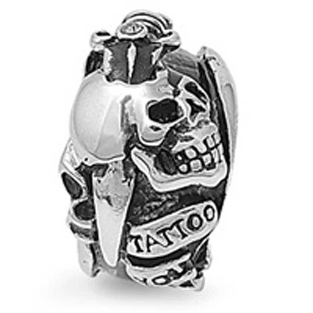Amazon.com: 23 mm. motorista de calavera cuchillo artista ...