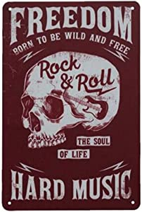 Kama Freedom-Born to Be Wild and Free, Hard Music-Rock & Roll, The Soul of Life for Wall Decor