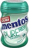 Mentos Pure Fresh Chewing Gum, Spearmint, 68 g