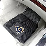 Fanmats NFL 18 x 27 in. Vinyl Car Mats