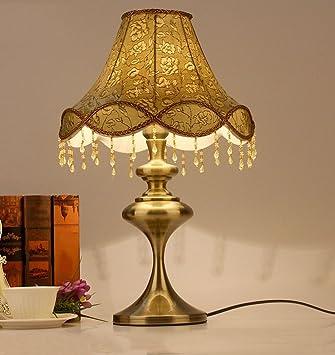 Facaig American Country Tischleuchte Bronze Wohnzimmer Dekorative