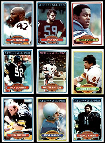 1980 Topps Football Complete Set (In Binder) (Football Set) Dean's Cards 8 - NM/MT