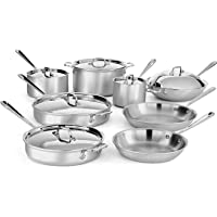 All-Clad MC2 14-Piece Stainless Steel Cookware Set