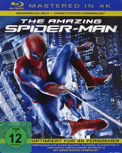 The Amazing Spider-Man [Blu-ray] [Mastered in 4K]