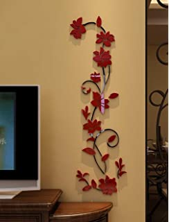 3d Rattan Flower Wall Murals For Living Room Bedroom Sofa Backdrop Tv Wall  Background, Originality