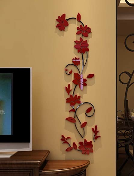 Genial 3d Rattan Flower Wall Murals For Living Room Bedroom Sofa Backdrop Tv Wall  Background, Originality